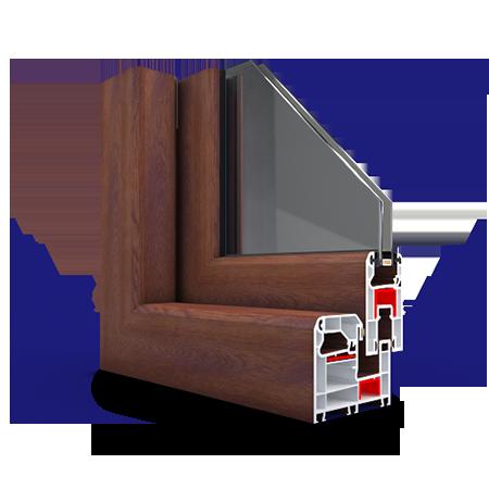 مزایای انواع پروفیل پنجره دوجداره