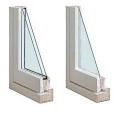 شیشه معمولی و دو جداره