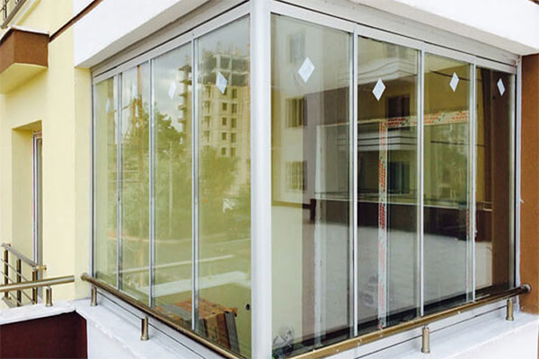 پنجره بالکن UPVC